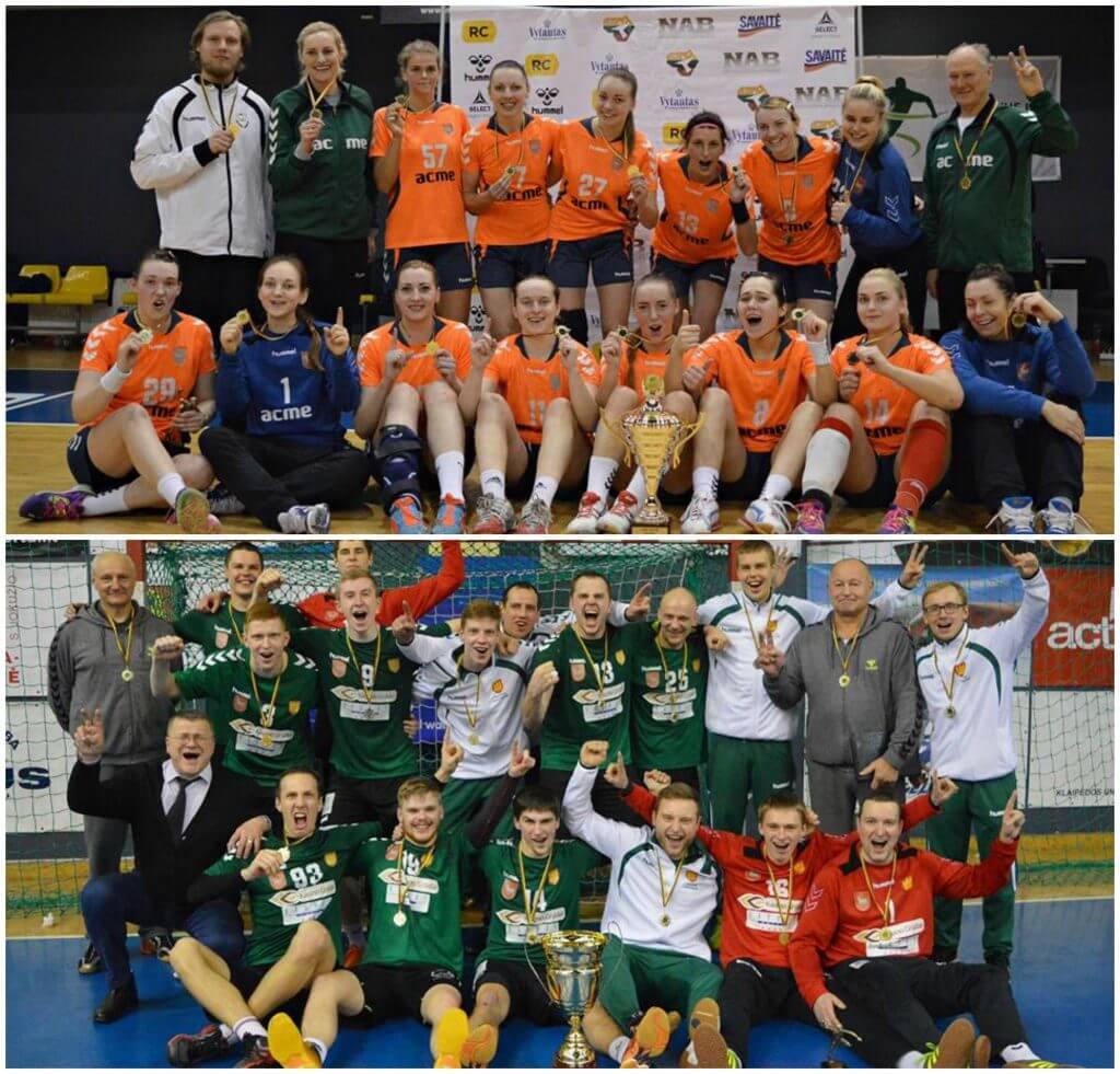 2016 metų LRF taurės laimėtojai