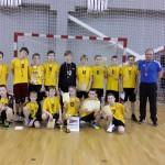 """U-12 antros vietos laimėtojai Vilniaus SM """"Tauras"""""""