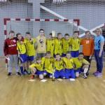 U-12 trečios vietos laimėtojai Molėtų KKSC I