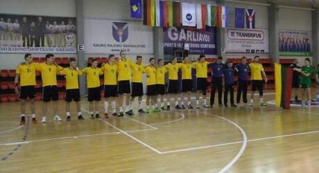 Lietuvos jaunimo vaikinų rinktinė 2016 m.