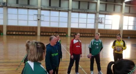 Moterų rinktinės treniruotė 2