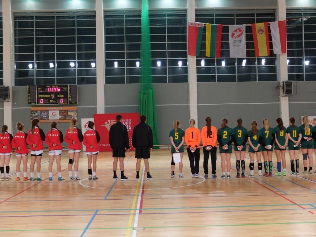 Tarptautinis Turnyras Lenkijoje 2015 m. Lenkija - Lietuva