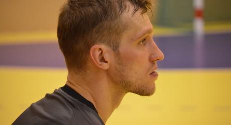 """Povilas Babarskas (""""RK Celje Pivovarna Lasko"""" Slovėnija) LRF nuotr."""