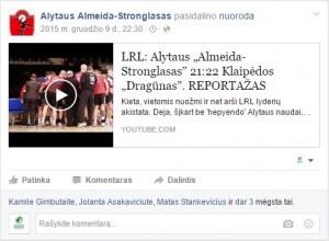 Alytaus Almeida Stronglasas