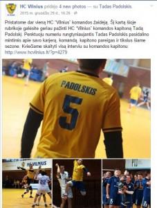 HC Vilnius rubrikos