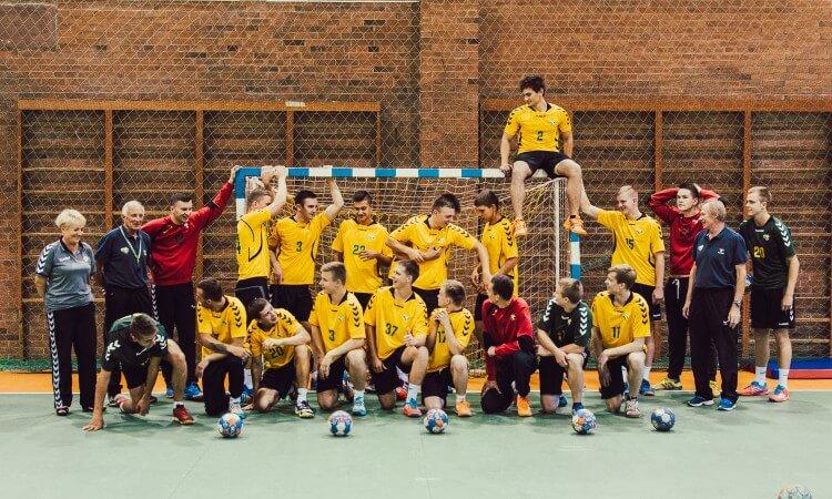 Lietuvos U18 vaikinų rankinio rinktinė susirinko į pasiruošimo stovyklą