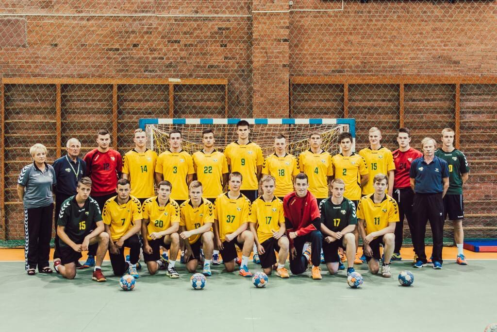 Lietuvos rankinis U18 - 2016 - zaidejai-42