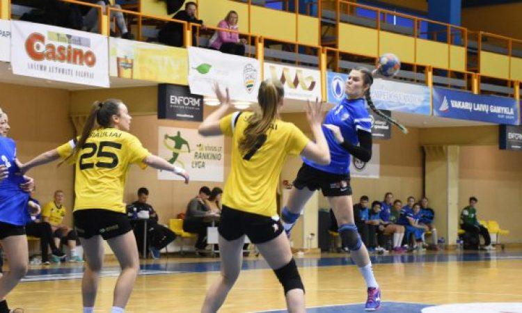 Netikėtumai Lietuvos moterų rankinio lygos ketvirtfinalyje