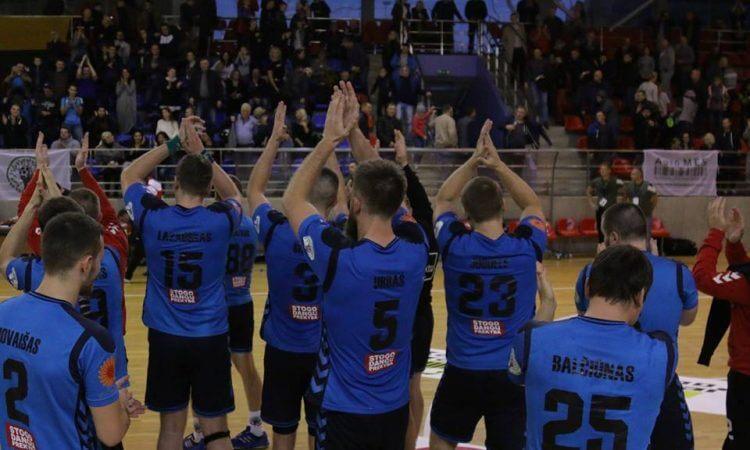 """VHC """"Šviesa"""" ir """"KTU"""" baigė pasirodymą EHF iššūkio taurėje"""