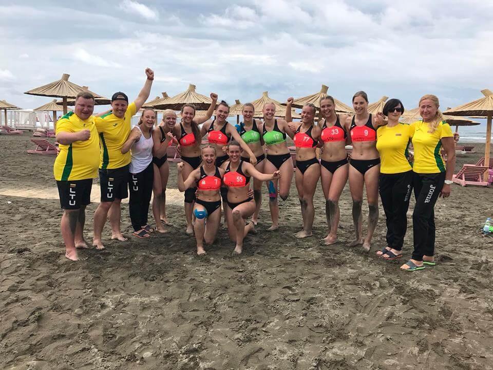 Lietuvos U18 paplūdimio rankinio rinktinė