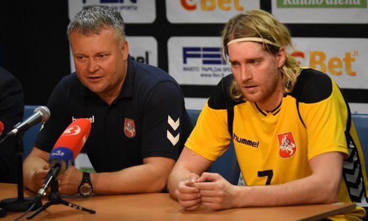 """Aidenas Malašinskas: """"Nesvarbu kaip, nesvarbu keliais įvarčiais, bet prieš portugalus turime imti du taškus"""""""