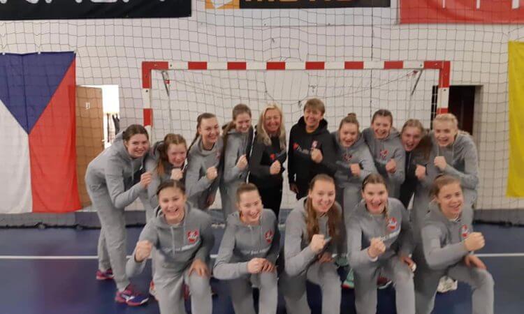 Lietuvos U16 merginų rinktinė kontrolinių rungtynių išvyko žaisti į Čekiją