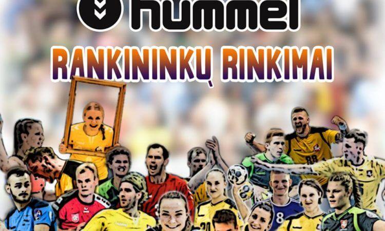 """Startuoja 2018-ųjų metų """"Hummel"""" geriausių rankininkų rinkimai"""
