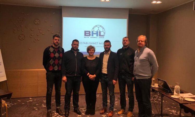 Įsteigta Baltijos šalių rankinio asociacija sieks populiarinti rankinį regione