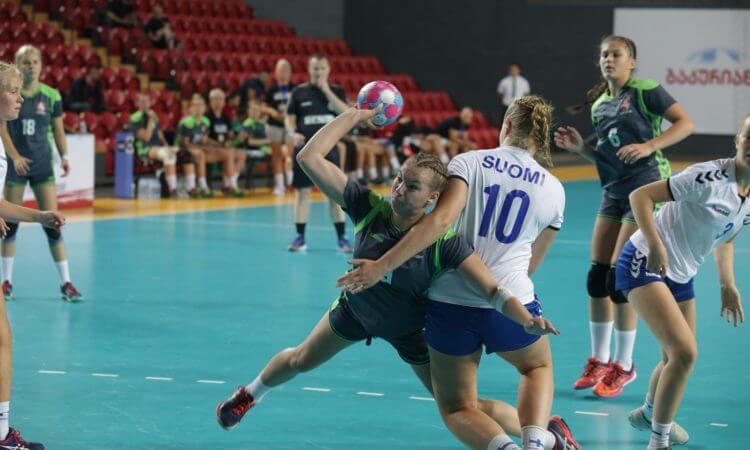 Suomes įveikusios Lietuvos septyniolikmetės žengė į Europos čempionato B diviziono pusfinalį