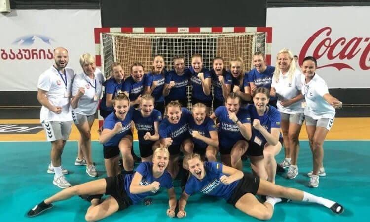 Iš Sakartvelo be medalių – mažajame finale Lietuvos rinktinė turėjo pripažinti ukrainiečių pranašumą