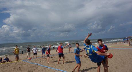 vaikų paplūdimio rankinis