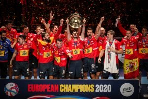 Men's EHF EURO 2020 Sweden, Austria, Norway - Final weekend -Final, Spain vs Croatia, Tele2 Arena, Stockholm, Sweden, 26.1.2020, Mandatory Credit © Anze Malovrh / kolektiff