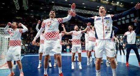 Men's EHF EURO 2020 Sweden, Austria, Norway - Main Round - Group I, Croatia vs Germany, Wiener Stadthalle, Vienna, Austria, 18.1.2020, Mandatory Credit © Jozo Cabraja / kolektiff