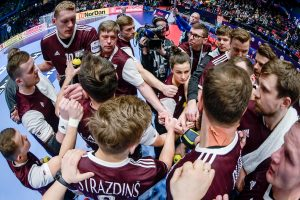 Men's EHF EURO 2020 Sweden, Austria, Norway - Preliminary Round - Group C, Latvia vs Netherlands, Trondheim Spektrum, Trondheim, Norway, 11.1.2020, Mandatory Credit © Axel Heimken / kolektiff