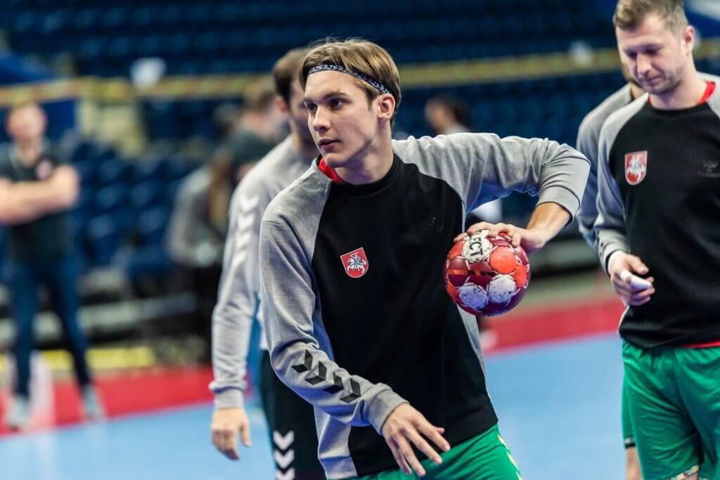 M.Lapiniauskas mače su Islandija pelnė 3 įvarčius